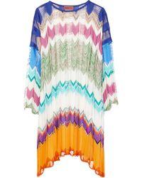 Missoni Zig-zag Knit Kaftan - Multicolor