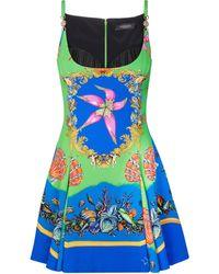 Versace Minikleid Trésor de la Mer - Blau