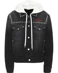 Miu Miu - Embroidered Denim Jacket - Lyst