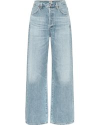 Citizens of Humanity Flavie Trouser High-rise Jeans - Blue
