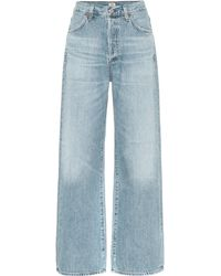 Citizens of Humanity High-Rise Jeans Flavie Trouser - Blau