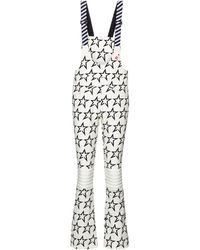Perfect Moment Isola Racing Print Trousers - White