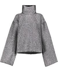 Moncler Genius Jersey 2 MONCLER 1952 de lana y Lurex® - Metálico