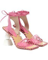 Jacquemus Les Sandales Valerie Hautes Sandals - Pink