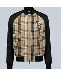 Burberry Bomber Vintage Check - Multicolor