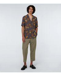 OAMC Pantalones Regs de lana - Verde