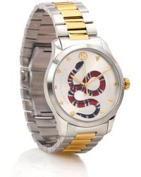 Gucci G-timeless 38mm Stainless Steel Watch - Metallic