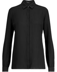 Etro - Silk Crêpe De Chine Shirt - Lyst