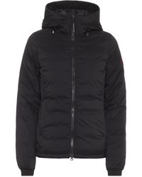 Canada Goose Camp Hoody Down Bomber Jacket - Black