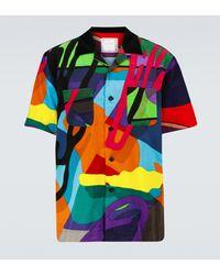 Sacai X KAWS – Chemise à manches courtes - Multicolore