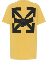Off-White c/o Virgil Abloh - T-Shirt Agreement aus Baumwolle - Lyst