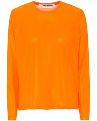 Junya Watanabe Mesh Top - Orange