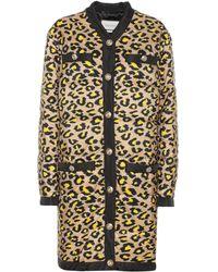 Gucci Animal Print Puffer Coat - Multicolor