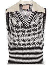 Gucci Pullunder aus einem Wollgemisch - Grau