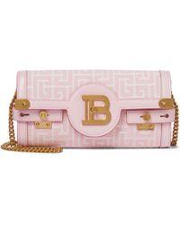 Balmain Schultertasche B-Buzz 23 Small - Pink