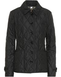 Burberry Quilted Jacket - Black