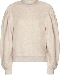Ulla Johnson Sweat-shirt Ava en coton - Neutre
