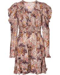 Ulla Johnson Julie Floral Cotton-blend Minidress - White