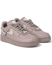 Nike Air Force 1 Lxx Leather Trainers - Brown