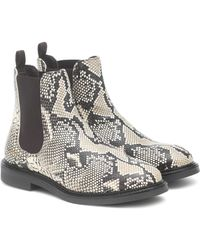 Axel Arigato Snake-effect Leather Chelsea Boots - Multicolour