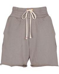 Les Tien Shorts Yacht aus Baumwolle - Braun