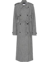 Gabriela Hearst - Lorna Houndstooth Wool And Cashmere Coat - Lyst