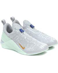Nike Metcon Flyknit 4 Trainers - Grey