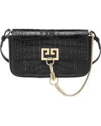 Givenchy - Charm Gv3 Leather Shoulder Bag - Lyst