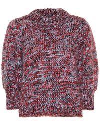 Ganni Pullover The Julliard in lana e mohair - Multicolore