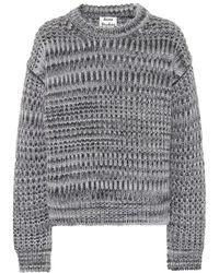 Acne Studios Pullover in misto lana - Grigio