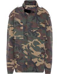 Yeezy Camouflage-printed Jacket (season 4) - Green