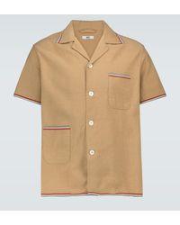 Bode Camisa de algodón con ribeteado - Multicolor
