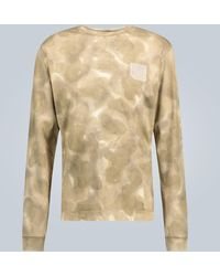 1017 ALYX 9SM Camouflage Long-sleeved T-shirt - Natural