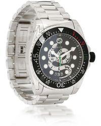 Gucci Reloj Dive 45 mm de acero - Metálico