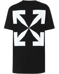 Off-White c/o Virgil Abloh Pascal Painting Logo Cotton T-shirt - Black