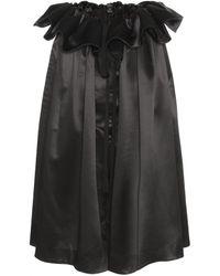 Ellery - Impact Silk Satin Skirt - Lyst