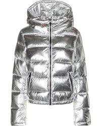 Perfect Moment Polar Flare Metallic Down Ski Jacket