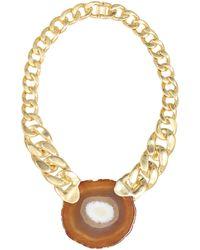 Zimmermann Chain Necklace - Metallic