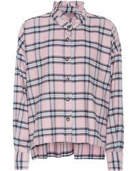 Étoile Isabel Marant Hemd mit Rüschenkragen - Pink