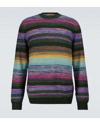 Missoni Pullover a righe in misto lana - Multicolore