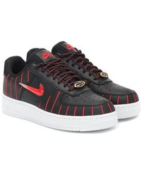 "Nike Sneakers ""Chicago Air Force 1 Jewel Qs"" - Nero"