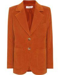 Tory Burch - Khloe Cotton Blazer - Lyst