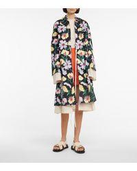 Marni Mantel aus einem Baumwollgemisch - Schwarz