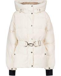 CORDOVA Mammoth Cotton Corduroy Down Ski Jacket - White