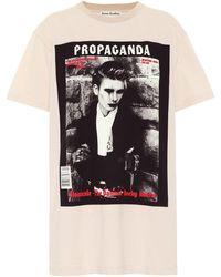 Acne Studios T-shirt imprimé Propaganda Magazine en coton - Multicolore