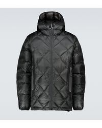 and wander Diamond Padded Jacket - Black