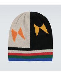 The Elder Statesman Bonnet en cachemire - Multicolore