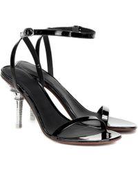 Vetements \n Black Leather Heels