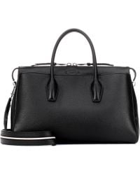 Tod's - Medium Leather Bowler Tote - Lyst