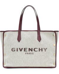 Givenchy Exclusivo en Mytheresa - shopper Bond Medium de lona - Multicolor